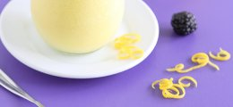 Mousse de limón con yogur